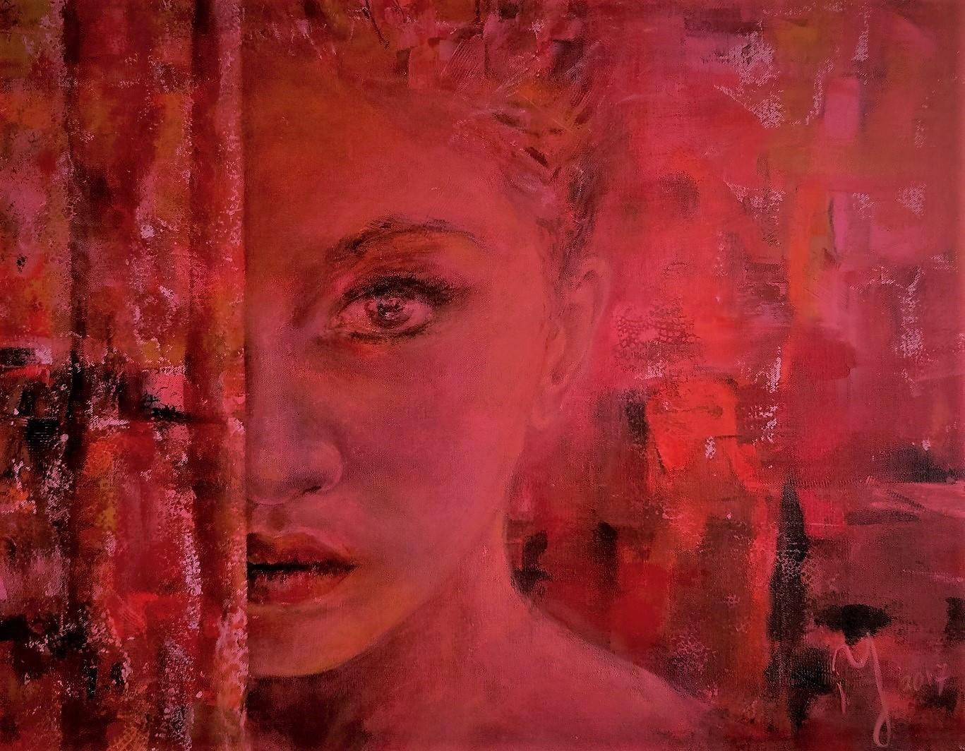 Roxanne | Portretten | 80x100 | Linnen Aluminium Frame |  Niet Meer Beschikbaar
