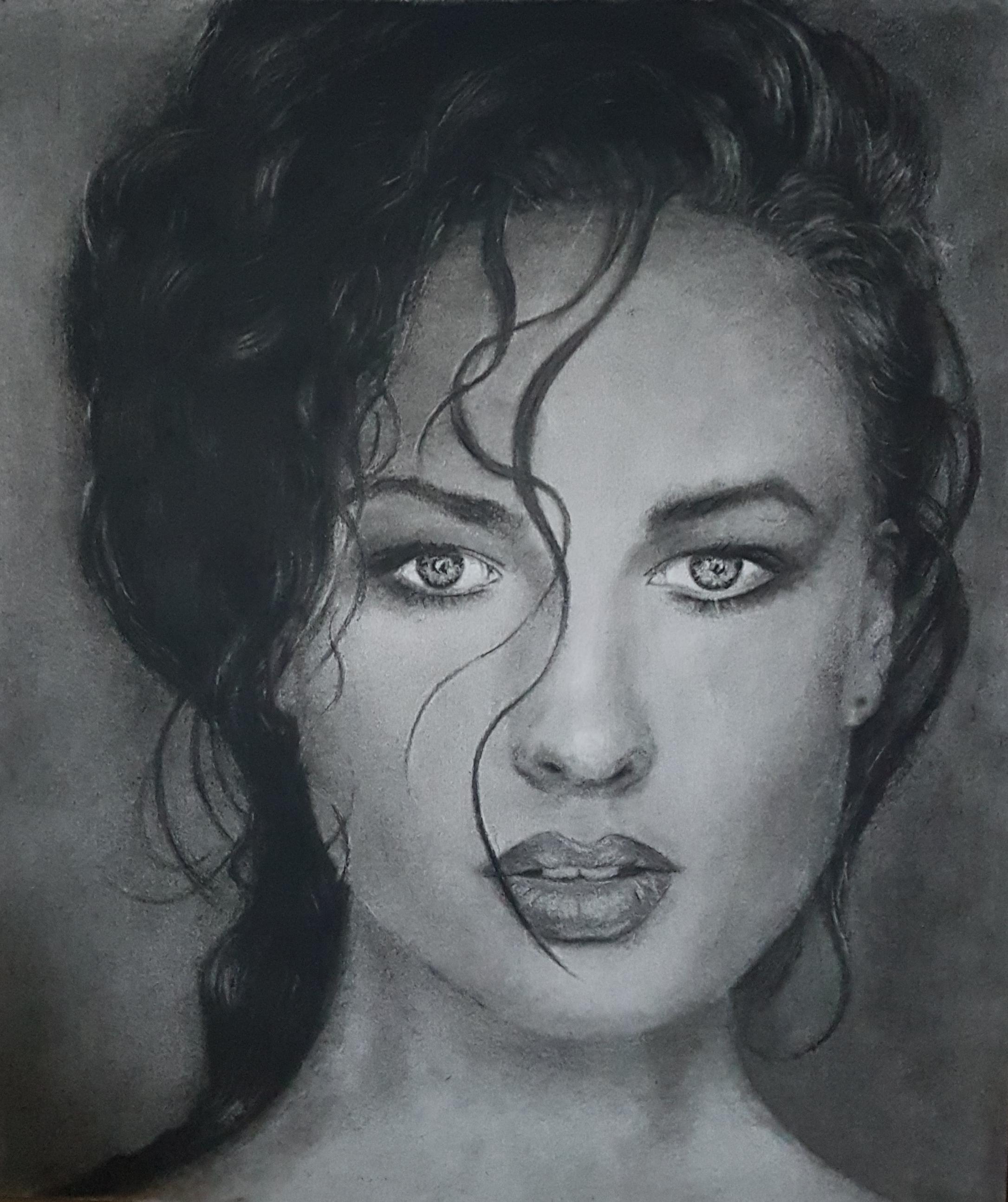 Portretten | Study | Tekening Grafiet Conté | A3 papier