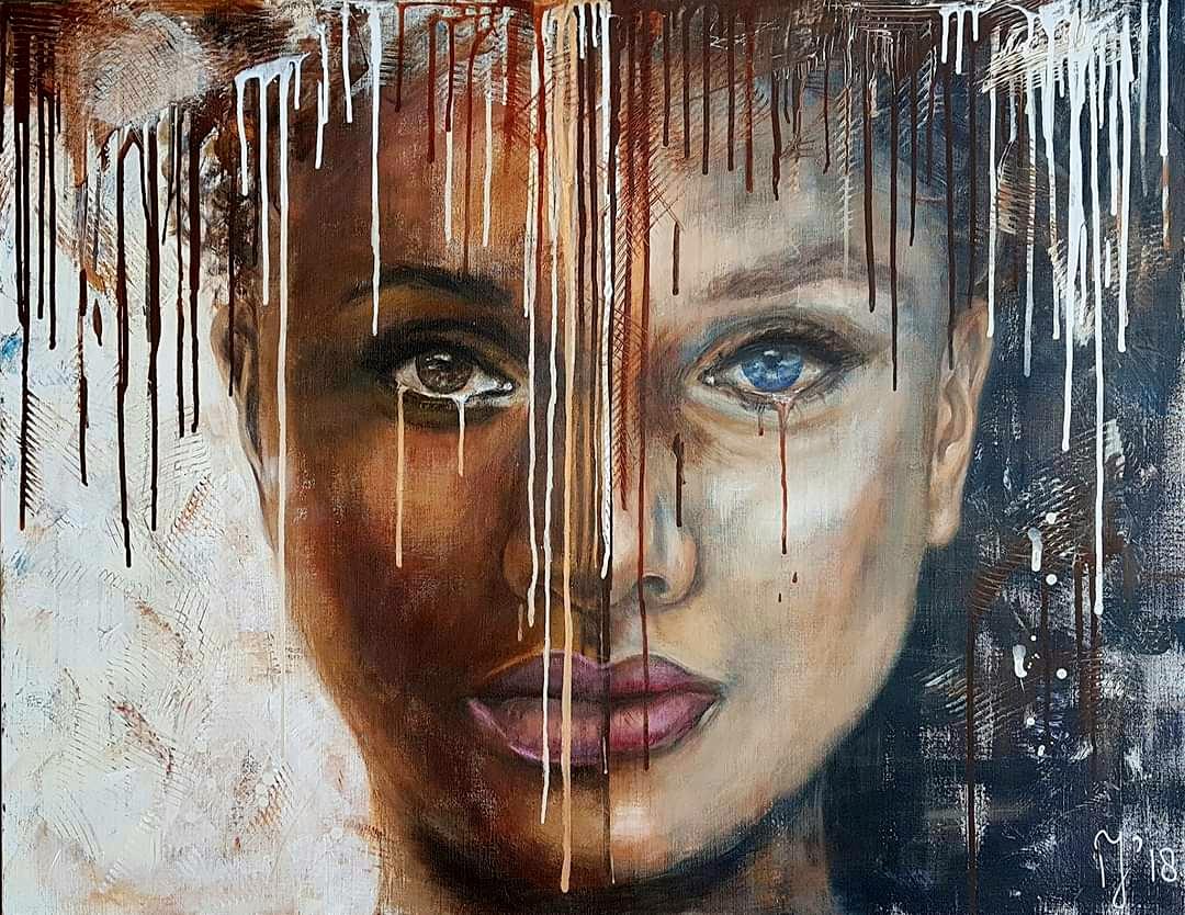 Everyone Should Be Equal   Portretten   90x115   Acryl Op Linnen Aluminium Frame