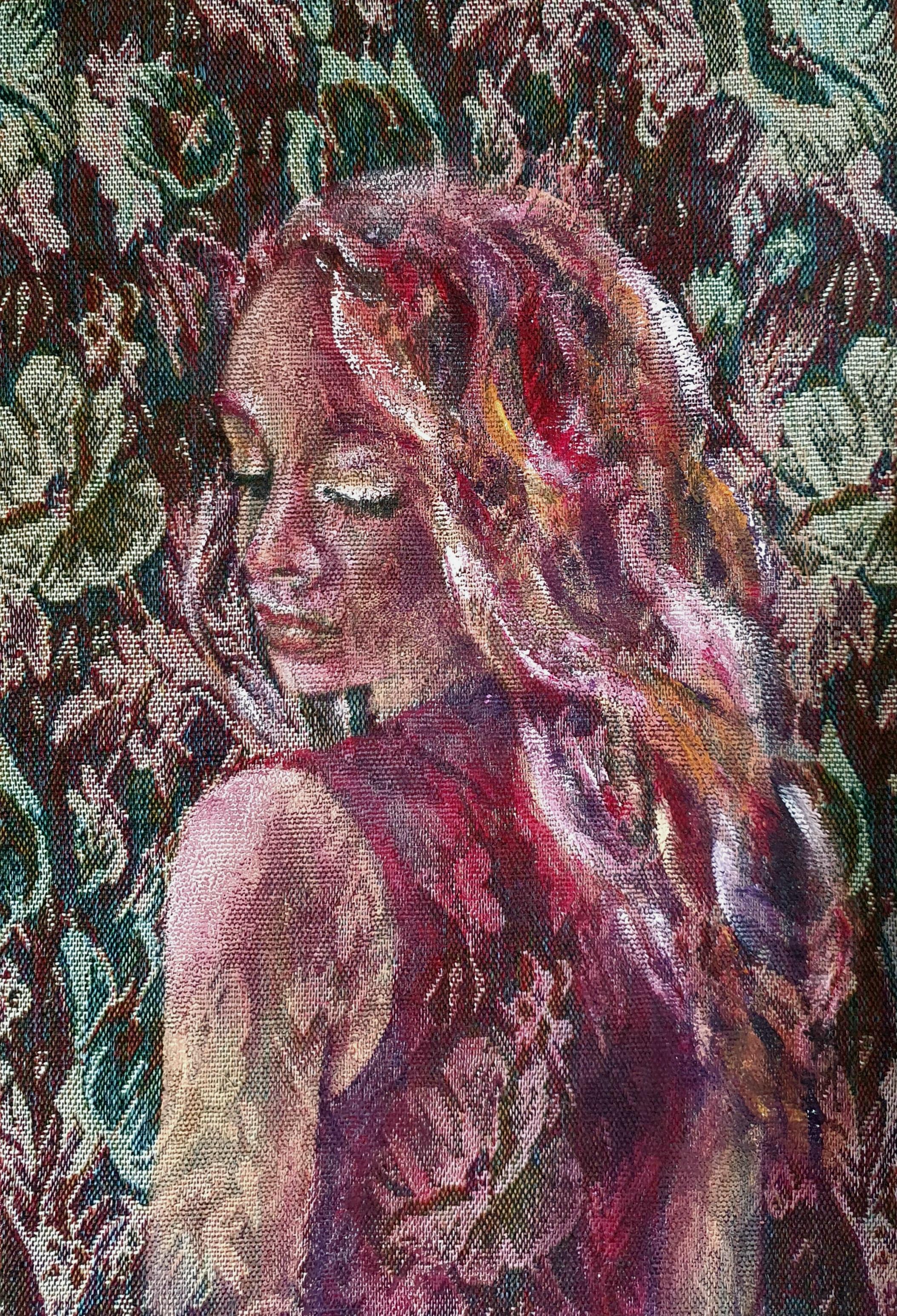 Portretten   32x47   Acryl Op Gobelin